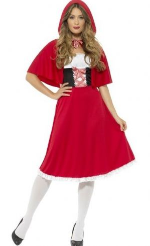 Red Riding Hood Plus size Costume (44686)